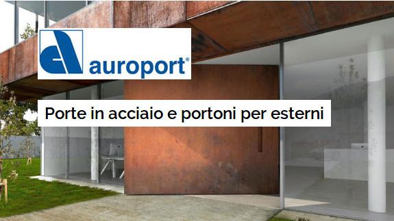 Porte in acciaio e portnoi per esterno Auroport Bologna