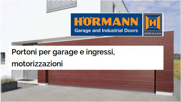 portoni per garage bologna Hormann
